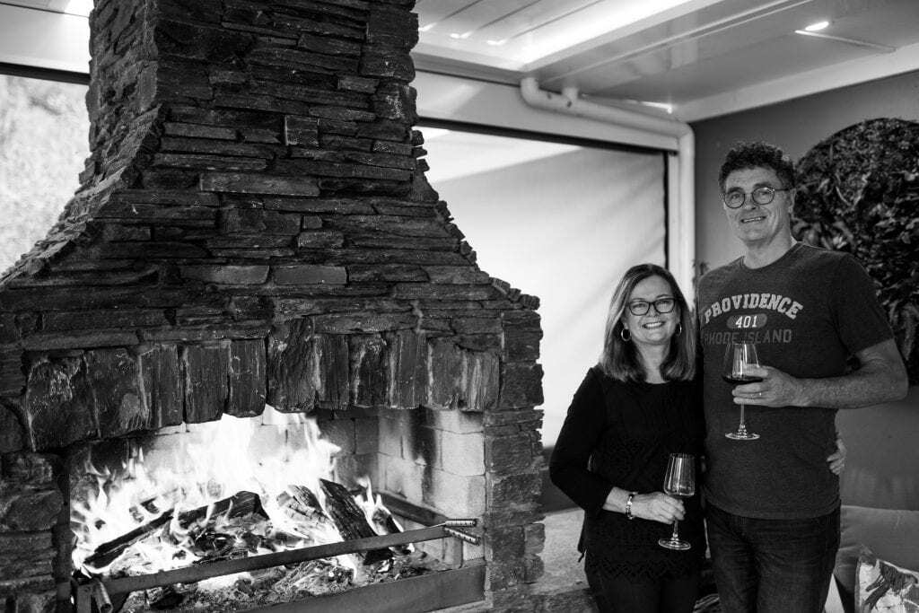 Flare Fires Outdoor Fires founders Torry and Sue Hilton