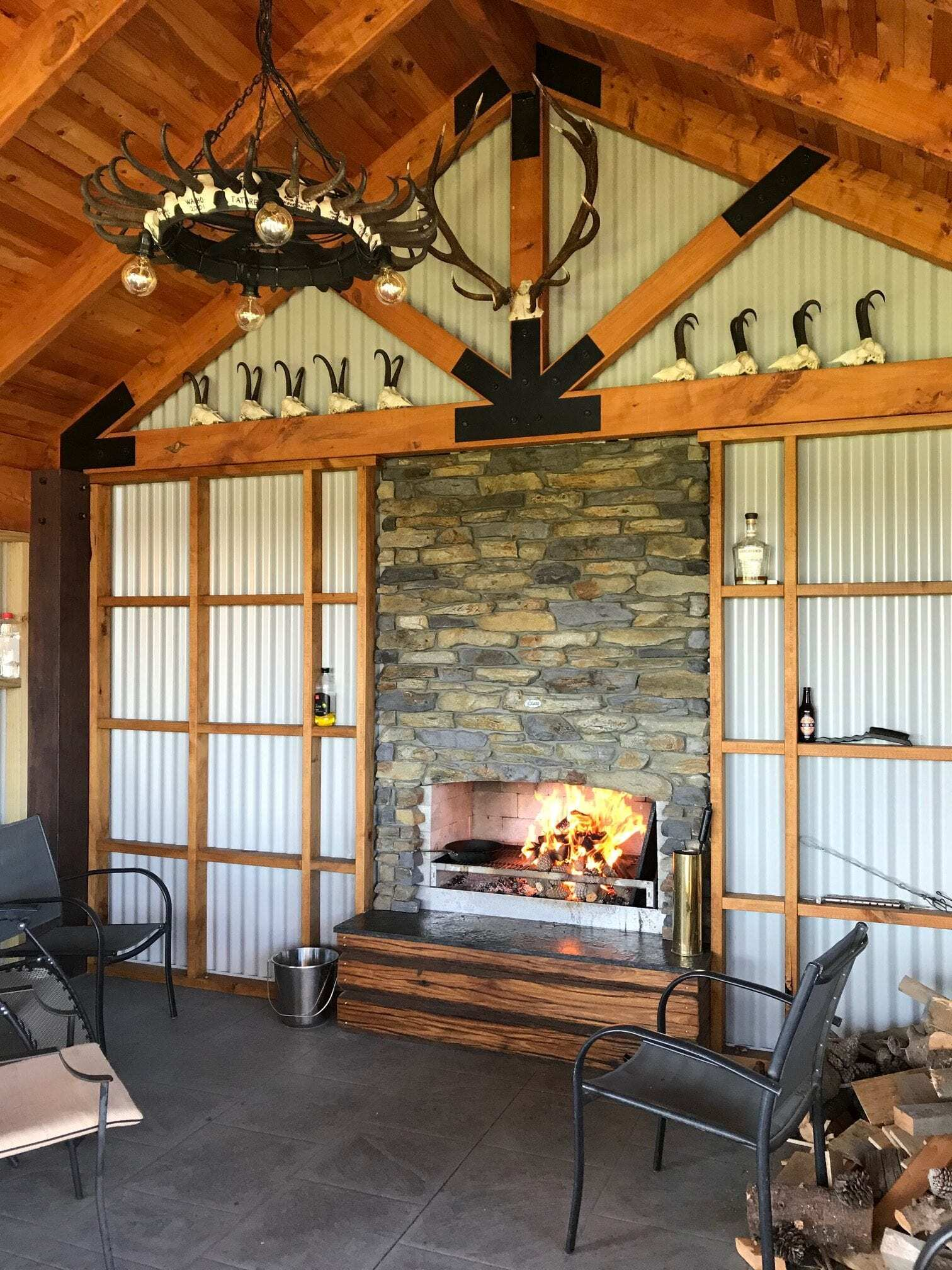 House looks better with a Flare Outdoor fire.