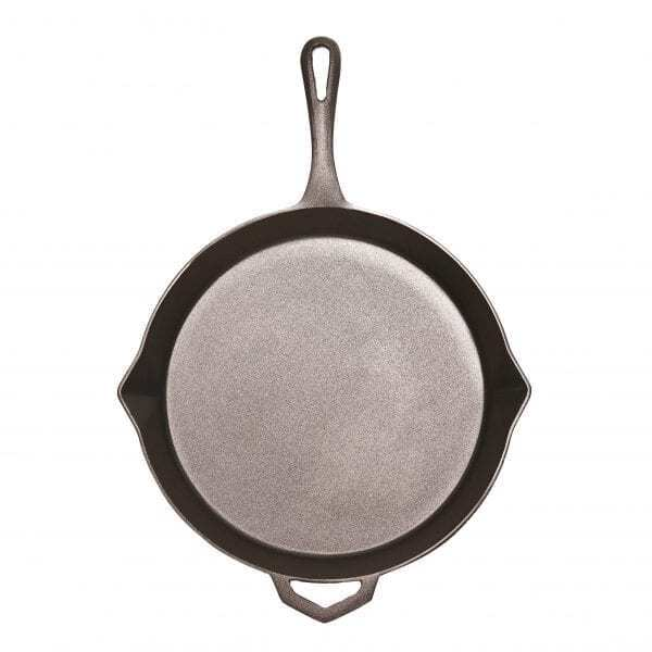 The Ironclad Legacy Pan is unique and perfect to cook family recipes on Outdoor fire