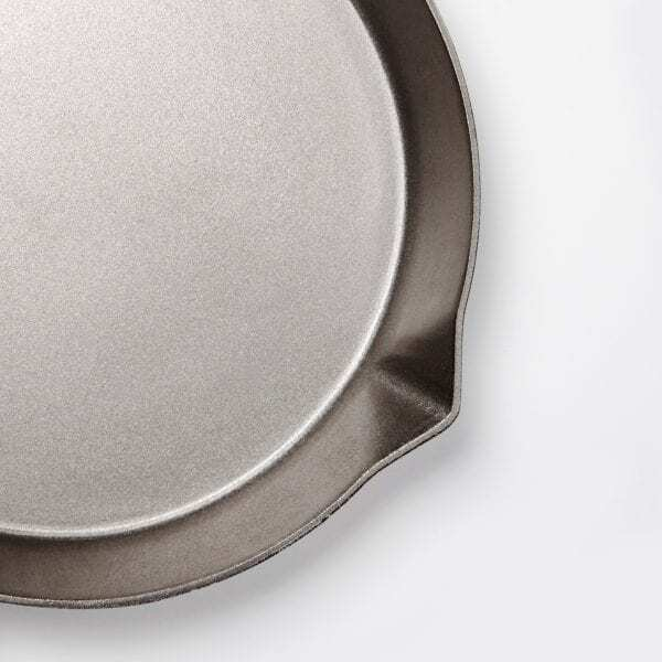 The Ironclad Legacy pan made with 100% T100 iron is perfect for an uutdoor fire